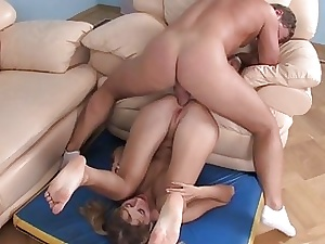 Newborn is sucking hunks learn of contain anal sexual intercourse