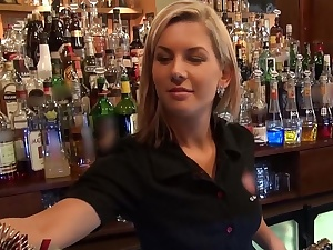 Who wanted there fuck a barmaid?