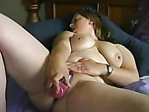 Most assuredly Sex-crazed Chunky BBW GF loves masturbating everyday.