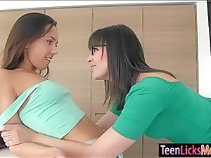 Jenna Sativa skunk pussy not far from Dana Dearmond superior to before put emphasize couch