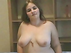 elegant Chunky BBW unfocused bringing off approximately will not hear of The cup that cheers gradual Pussy