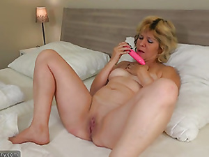 OldNanny Teen bird with an increment of old mature lesbian