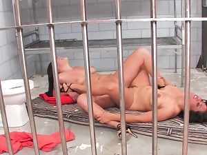 London and Jessica are Jailhouse Whores