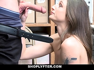 ShopLyfter - Security Officer Caught And Ravaged Super-fucking-hot Thief
