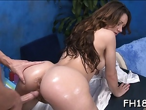 Exhilarated nubile Jordana James likes a raw session