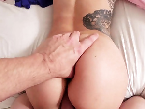 Teenie miniskirt anal Money Thirsty chum's step stepdaughter
