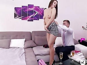 Paris fuck sesh with a doll and her male partner