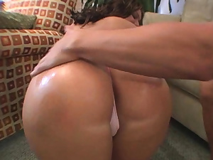 Foxy brown-haired latin ultra-cutie Amber Fuentes gets fucked good