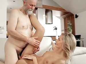 Mature man nails stellar wife in senior and young movie