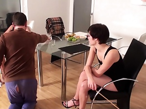 Female dominance Ladies make slaves to housemaids