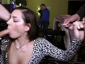 german public sex flashing in casino with first-timer nubile