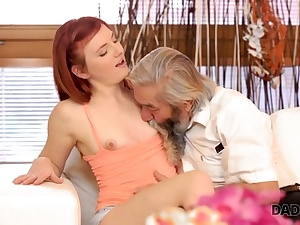 DADDY4K. Beauty participates in crazy threeway