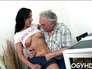 Tempting legitimate russian babe gets rammed