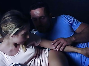Perv Daddy Having Hookup With Family Friend At Night