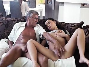 Striptease puss petting and fuck stick plowing solo squirt